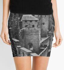 Carcassonne Castle Mini Skirt