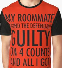 New Girl - Guilty shirt Graphic T-Shirt