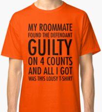 Neues Mädchen - Schuldig-Shirt Classic T-Shirt