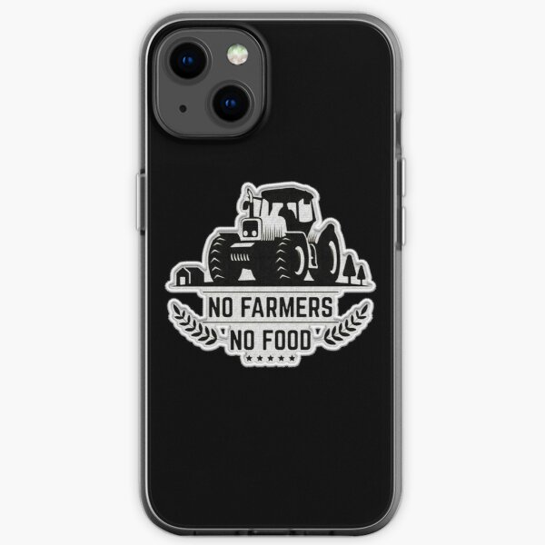 No Farmers No Food Patch iPhone Soft Case