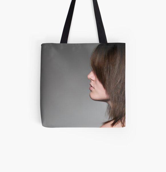 Hidden All Over Print Tote Bag