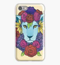 Flora lion iPhone Case/Skin