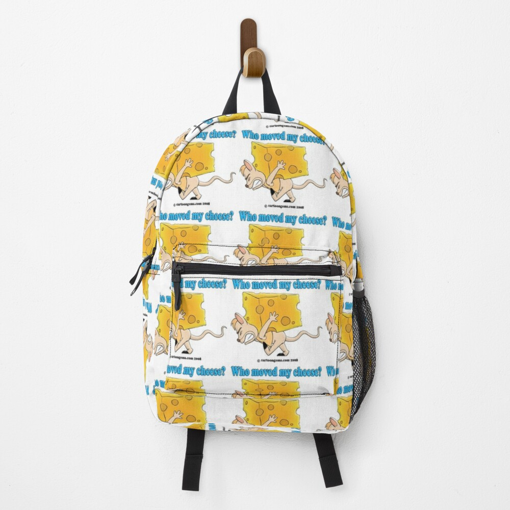 Who Moved My Cheese? Backpack