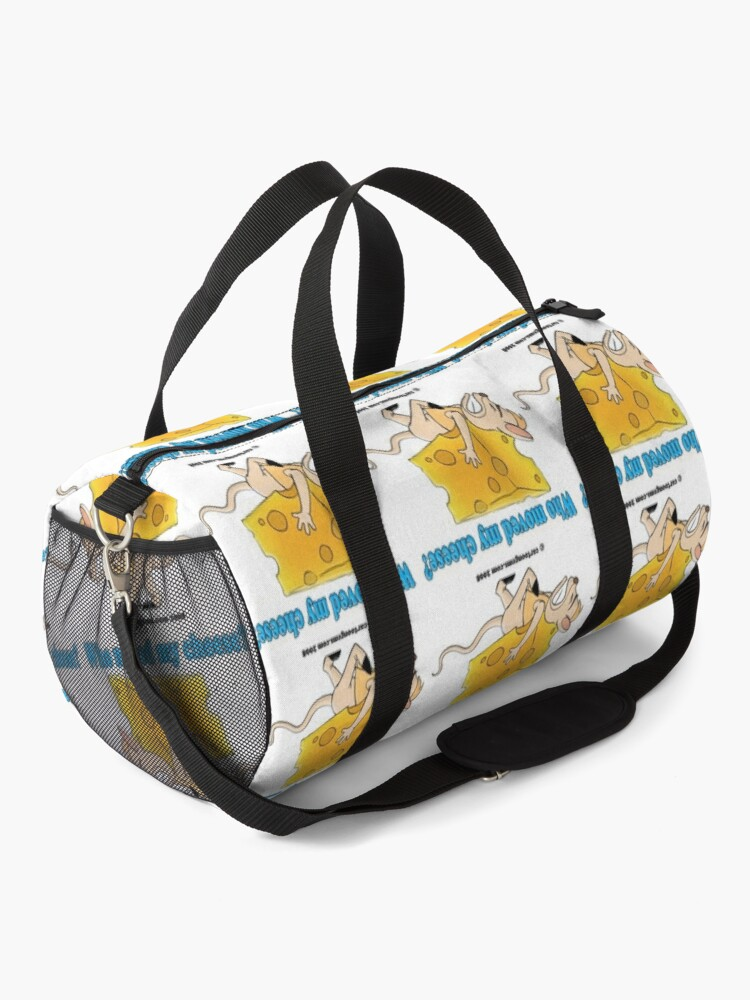 Alternate view of Who Moved My Cheese? Duffle Bag