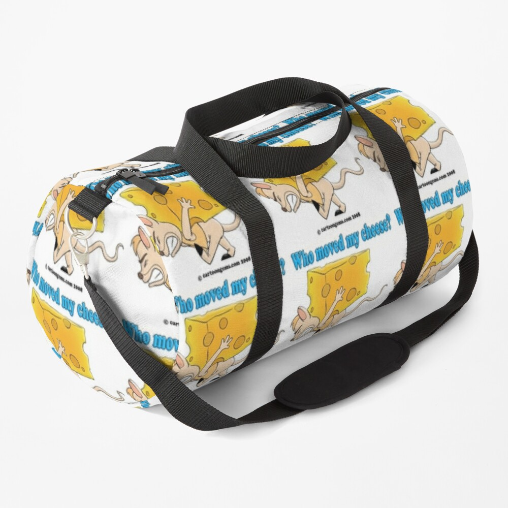 Who Moved My Cheese? Duffle Bag
