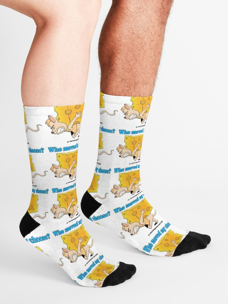 Alternate view of Who Moved My Cheese? Socks
