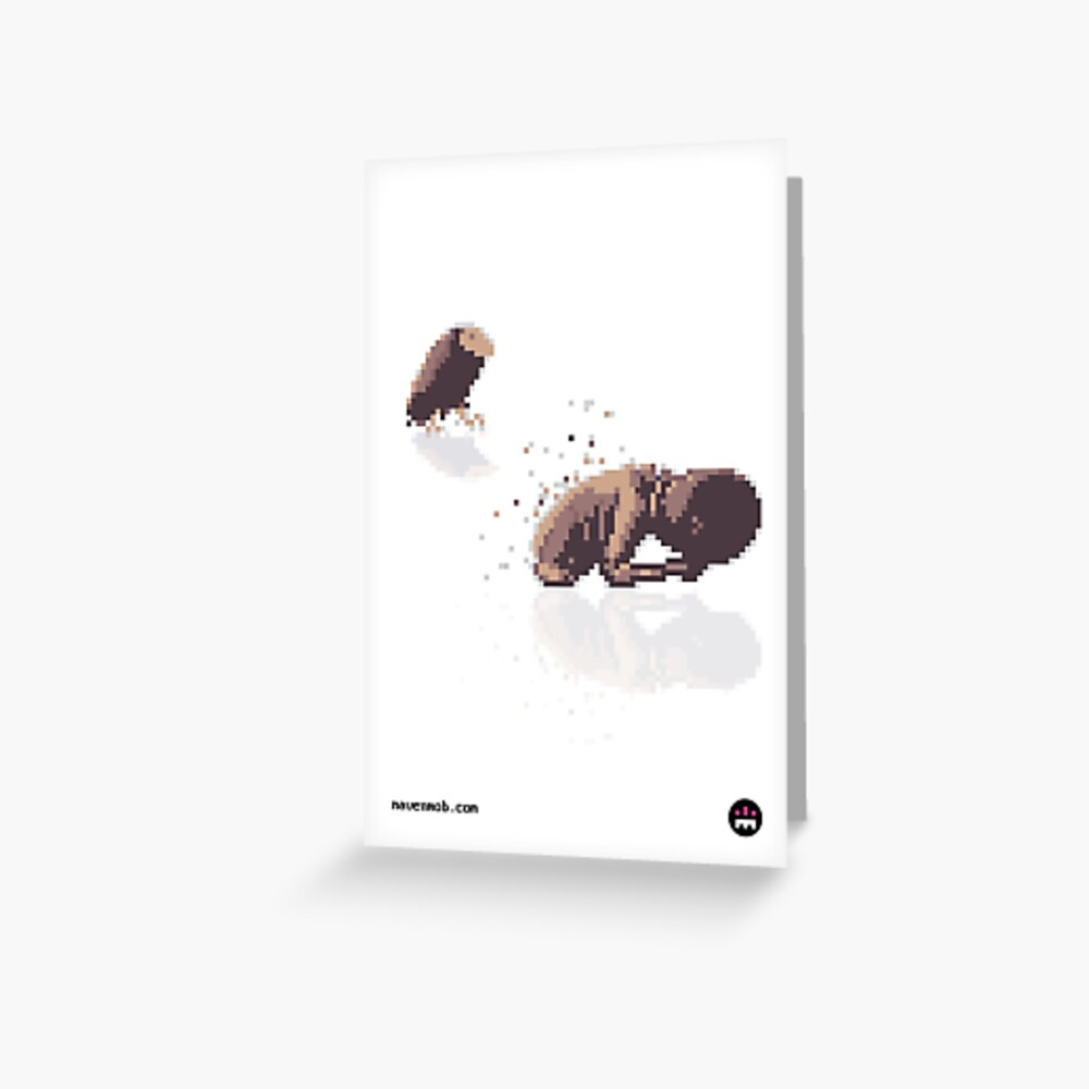 starving child Greeting Card