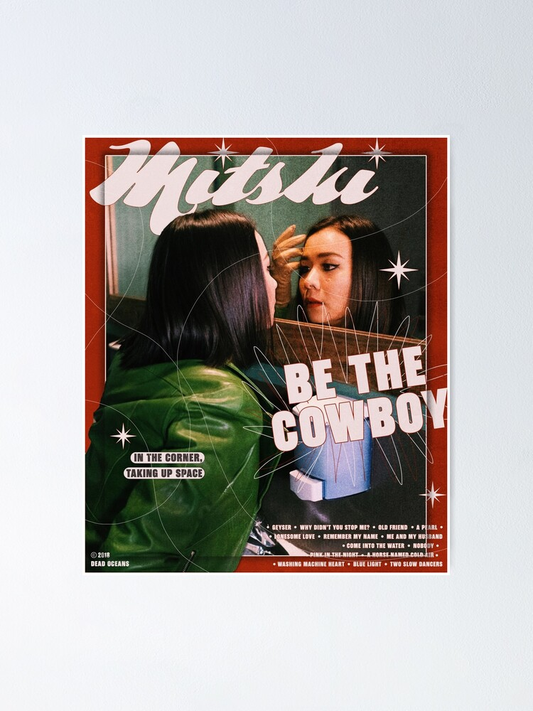 Alternate view of Mitski Be the Cowboy poster Poster