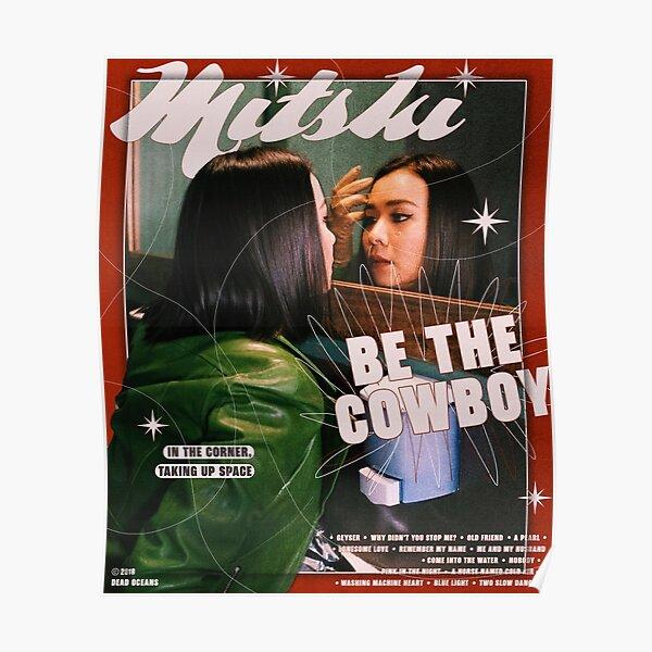 Mitski Be the Cowboy poster Poster