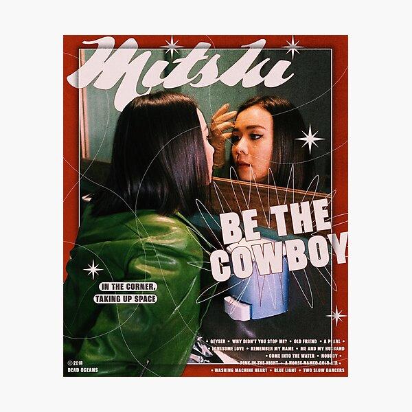 Mitski Be the Cowboy poster Photographic Print