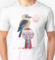 Bird gumball machine Kookaburra Unisex T-Shirt