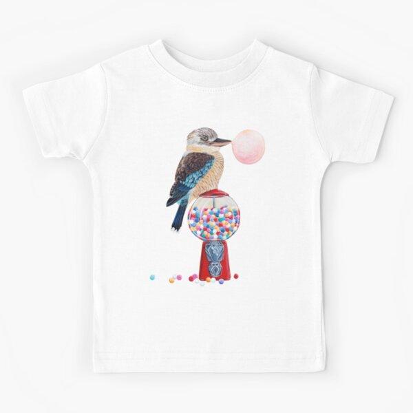 Bird gumball machine Kookaburra Kids T-Shirt