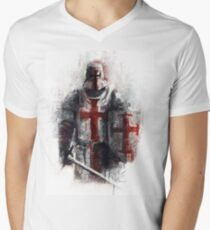 Crusader Men's V-Neck T-Shirt