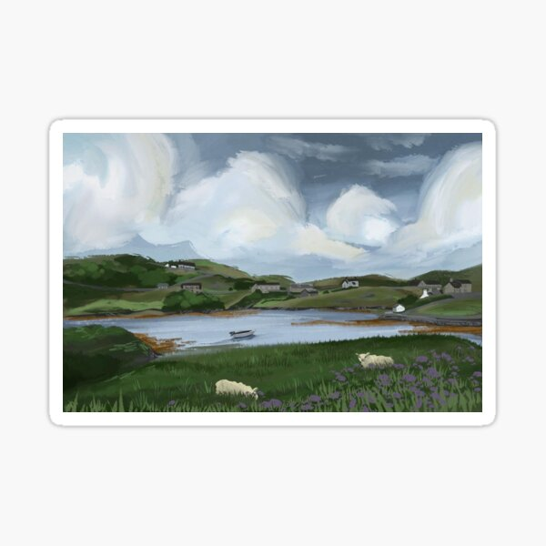 Scalpay, Isle of Lewis  Sticker