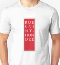 Rue Saint-Honore - Paris T-Shirt