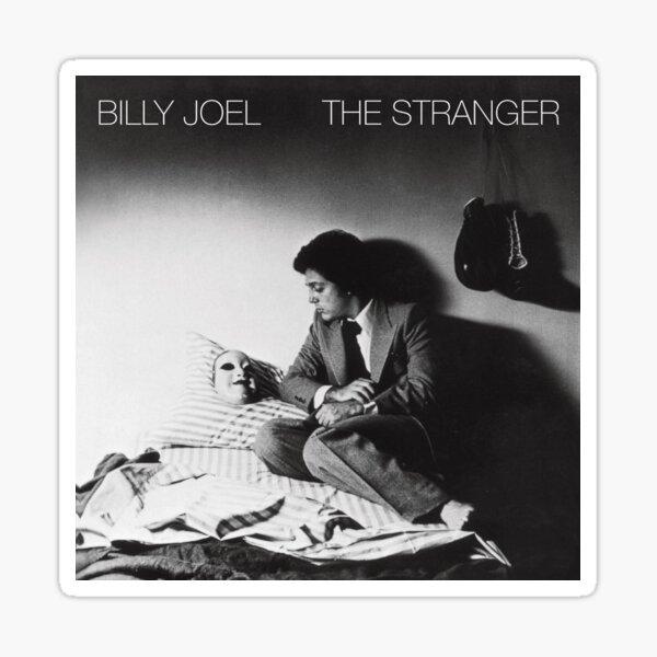 Album The Stranger Billy Joel Music Sticker