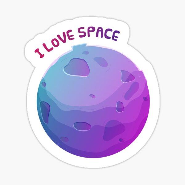 Copy of moon Sticker