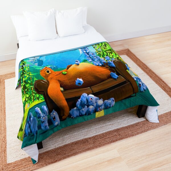 Lemmings Tabodi And Grizzy characters super, fun, adventures Lemmings Tabodi And Grizzy  Comforter