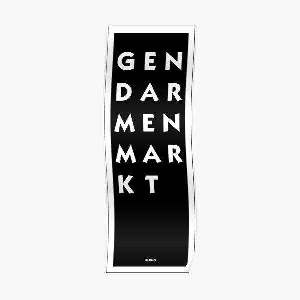 Gendarmenmarkt - Berlin Poster