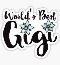 World's Best Gigi Sticker