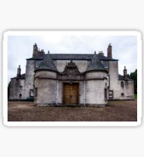 Leith Hall Back Entry - (Huntly, Aberdeenshire, Scotland) Sticker