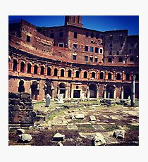 Roman Ruins Imperial Forum Photographic Print