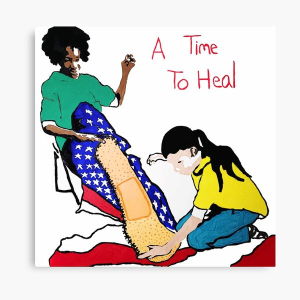 A Time To Heal (2021 Inauguration Painting) Canvas Print