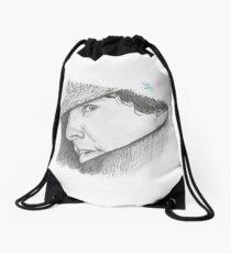 Hatman and Robin Drawstring Bag