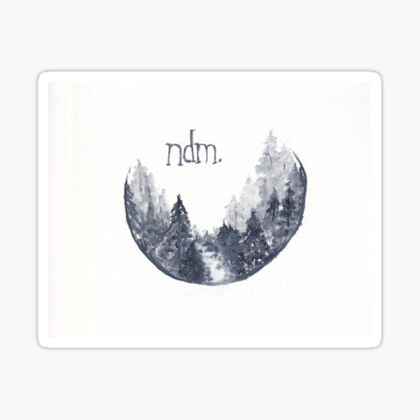 Not Deer Mag Logo Sticker