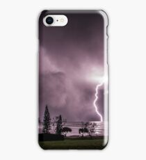 Lightning at Lennox Head iPhone Case/Skin