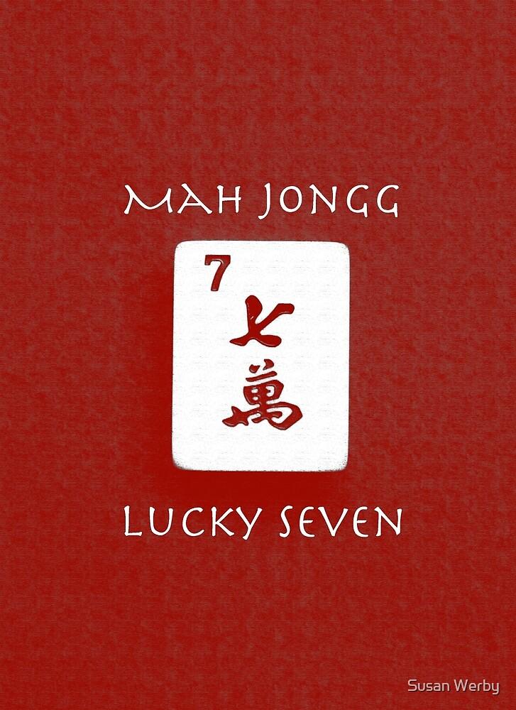 Lucky Seven #4 ~ Mah Jongg Series by Susan Werby