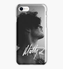 Matt Healy Signature - B&W edit phone case Samsung and iPhone iPhone Case/Skin