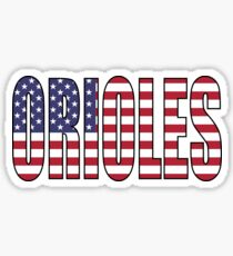 Orioles Sticker