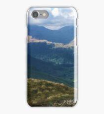 Lake District Fell Runner iPhone Case/Skin