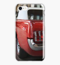 ford mustang, cabriolet classic car iPhone Case/Skin