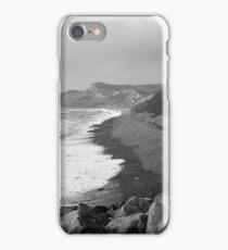 Jurassic Coast, Dorset - Stormy October iPhone Case/Skin