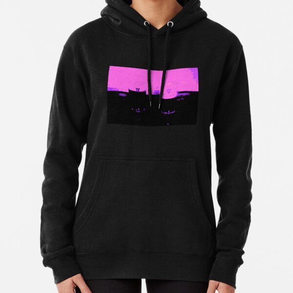 Two Pints of Stout - Pink Pullover Hoodie