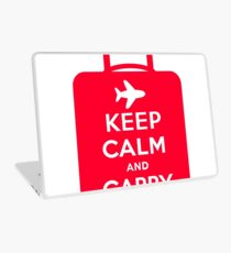 Keep Calm and Carry on Luggage Laptop Skin