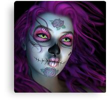 Sugar Doll Purple Canvas Print