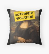Mona ... eh Throw Pillow