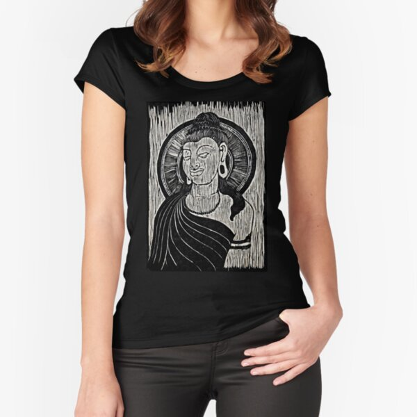 Bodhisattva Fitted Scoop T-Shirt