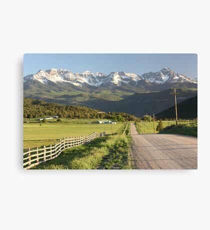 The Scenic Route Canvas Print
