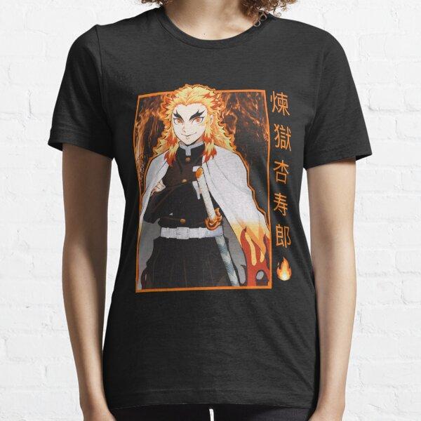 Rengoku Kyojuro Flame Hashira Essential T-Shirt