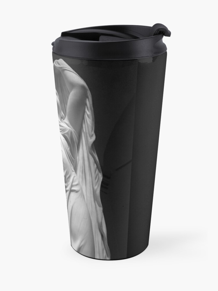 Alternate view of Undine Rising from the Waters. Chauncey Bradley Ives Travel Mug