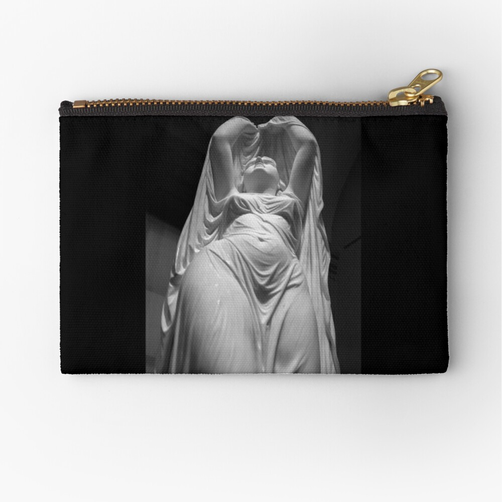 Undine Rising from the Waters. Chauncey Bradley Ives Zipper Pouch