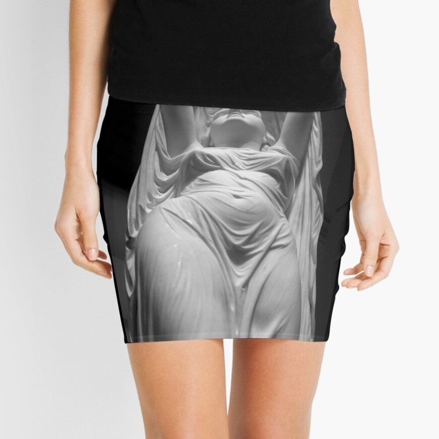 Undine Rising from the Waters. Chauncey Bradley Ives Mini Skirt