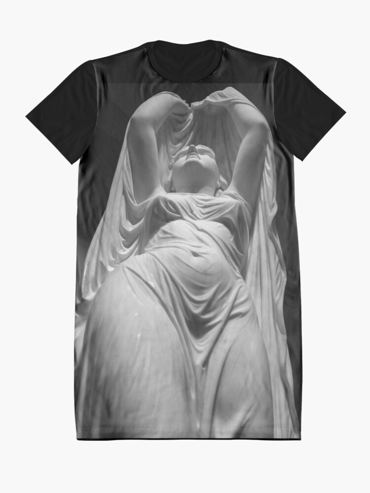 Alternate view of Undine Rising from the Waters. Chauncey Bradley Ives Graphic T-Shirt Dress