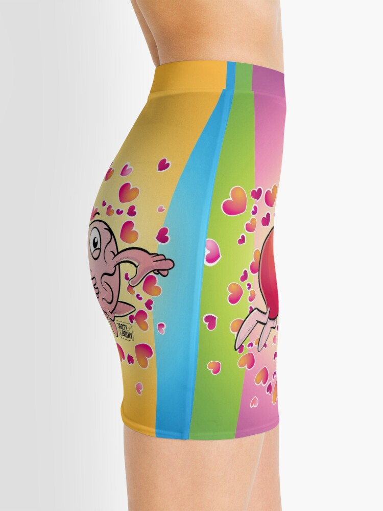 Vista alternativa de Minifalda San Valentin-J&B COLOR