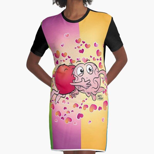 San Valentin-J&B COLOR Vestido camiseta