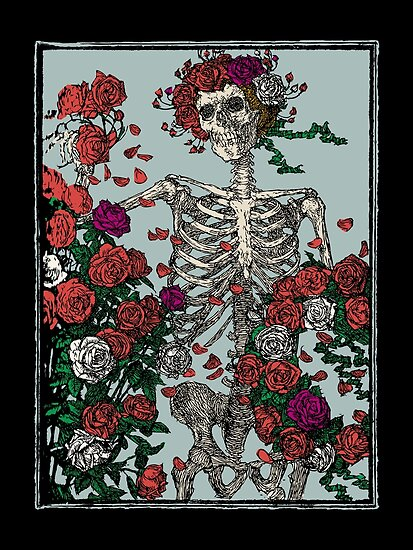 Skeleton & Roses von Bela-Manson